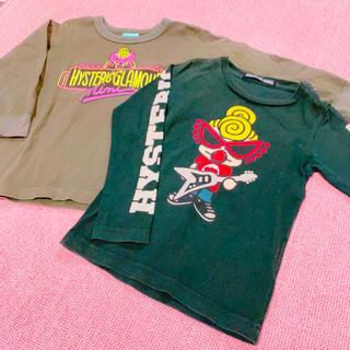 ヒステリックミニ(HYSTERIC MINI)のヒスミニ 2着セット(Tシャツ/カットソー)