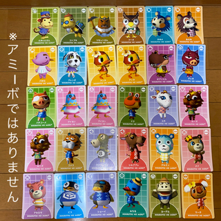 任天堂 - どうぶつの森 カード 任天堂 Nintendo たぬきち とたけけ