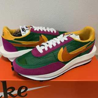 23cm Nike LD Waffle Sacai Pine Green (スニーカー)