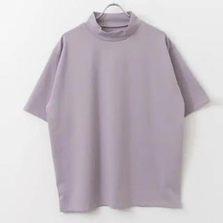SENSE OF PLACE by URBAN RESEARCH - ポンチモックネックTシャツ 5分袖