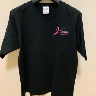 Tシャツ カーブス ピンクリボン(Tシャツ(半袖/袖なし))