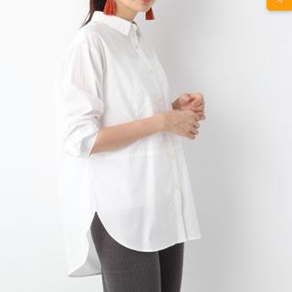 レプシィム(LEPSIM)のロングレイヤーシャツロングスリーブ(Tシャツ/カットソー(七分/長袖))