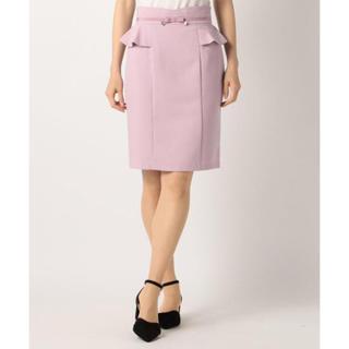 MISCH MASCH - 新品 MISCH MASCH ペプラムタイトスカート 美人百花 オフィス 紫