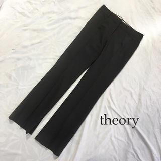 セオリー(theory)のセオリー ウール パンツ ストレッチサキソニー MAX XS ダークグレー(カジュアルパンツ)