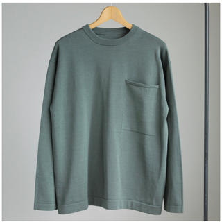 UNUSED - crepuscule    Pocket Knit L/S #green