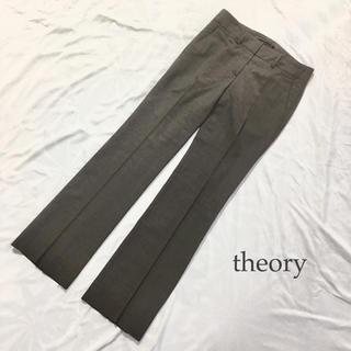 セオリー(theory)のtheory ウール パンツ ALFORD TAILOR XS グレー(カジュアルパンツ)