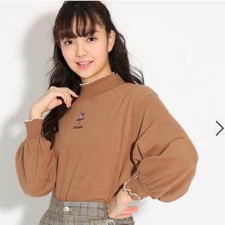 ピンクラテ(PINK-latte)のワンポイントメローネックトップス♡ピンクラテ(Tシャツ(長袖/七分))