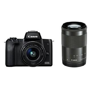 Canon - キヤノンミラーレスカメラ(EOS Kiss M・ダブルズームキット) ブラック