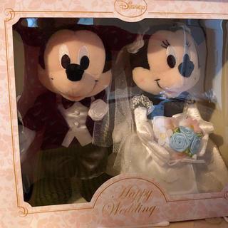 Disney - ディズニー ミッキー ミニー ウェディングドール 結婚式