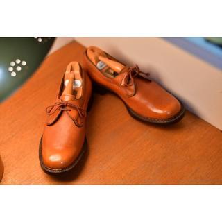 クロケットアンドジョーンズ(Crockett&Jones)のcrockett&jones 旧ロゴ SWANネーム 75C 23.5〜24cm(ローファー/革靴)