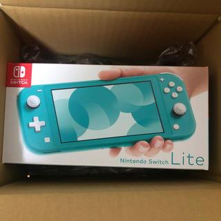 Nintendo Switch - 【新品未使用】Switch lite 本体 ターコイズ