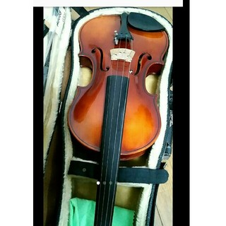 高級 バイオリン 鈴木 No.240 4/4 証明ラベル有、弓ケース付 定価7万