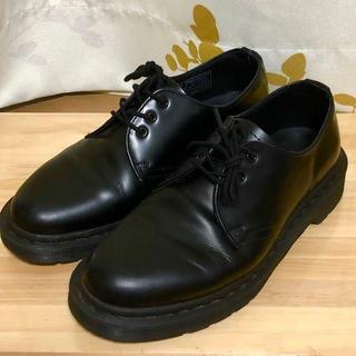 ドクターマーチン(Dr.Martens)のドクターマーチン ブラック 3ホール UK5 1461 MONO(ブーツ)