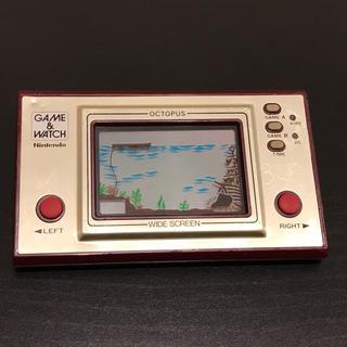 任天堂 - ゲームウォッチ オクトパス 任天堂