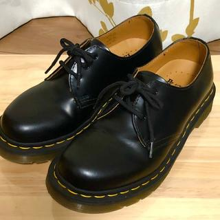 ドクターマーチン(Dr.Martens)のドクターマーチン ブラック 3ホール UK4 1461(ブーツ)