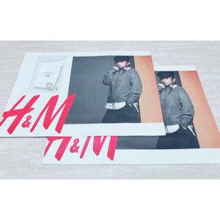 エイチアンドエム(H&M)の安室奈美恵 H&M ショッパー2枚&ネックレスセット(ミュージシャン)