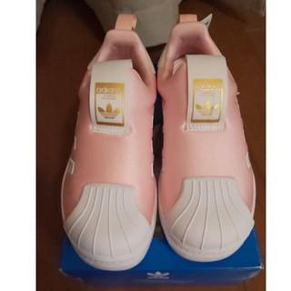 adidas - スーパースター スリッポン ピンク 19cm