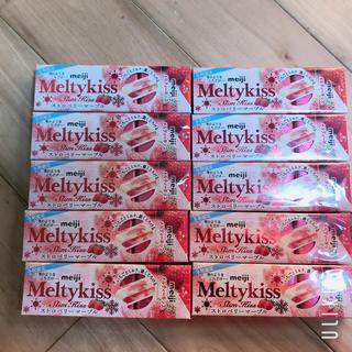 メイジ(明治)の明治 メルティキッス ストロベリーマーブル 10個(菓子/デザート)