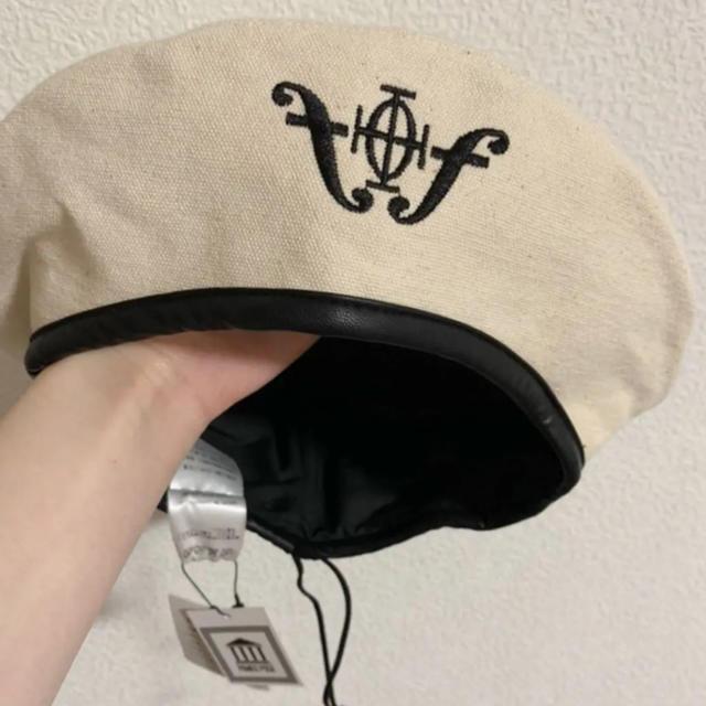 PAMEO POSE(パメオポーズ)のパメオポーズ ベレー帽 キャンパス地 未使用新品 PAMEO POSE レディースの帽子(ハンチング/ベレー帽)の商品写真