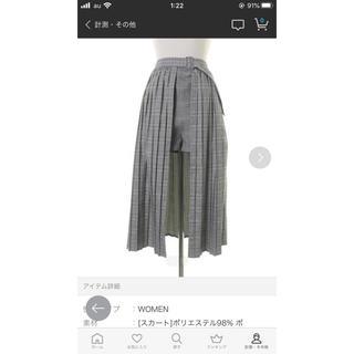 ジュエティ(jouetie)のjouetie ショートパンツ(スカート付き)(ショートパンツ)