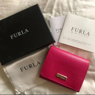 Furla - 【FURLA フルラ 】三つ折り財布 折りたたみ財布 ピンク