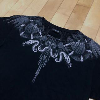 マルセロブロン(MARCELO BURLON)のマルセロバーロン スネーク フェザー tシャツ(Tシャツ/カットソー(半袖/袖なし))