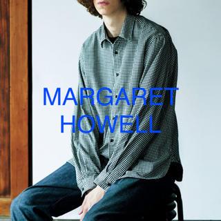 マーガレットハウエル(MARGARET HOWELL)のMARGARET HOWELL  ギンガムチェックシャツ(シャツ)