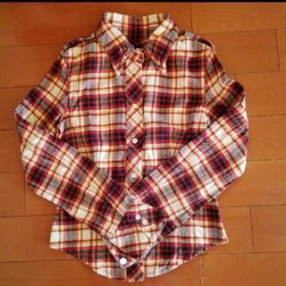 マウジー(moussy)のMOUSSY チェック ネルシャツ(シャツ/ブラウス(長袖/七分))