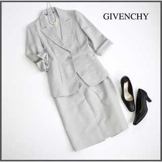 ジバンシィ(GIVENCHY)のジバンシィ★スカートスーツ 上36下38(S) 春夏 ビジネス フォーマル(スーツ)