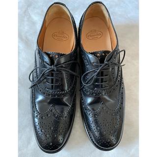 ドゥーズィエムクラス(DEUXIEME CLASSE)の【美品】church's チャーチ BURWOOD バーウッド サイズ36(ローファー/革靴)