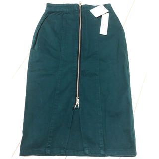 MURUA - ブルーグリーンタイトスカート