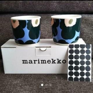 marimekko - 廃番新品 ウニッコ マリメッコ ラテマグ マグカップ コーヒー カップ ウニッコ