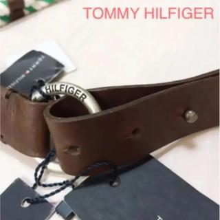 TOMMY HILFIGER - TOMMY HILFIGER♡グリーンファッションベルト 新品