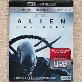 エイリアン コヴェナント(4K Ultra HD/BD) 海外版 UHDに日本語