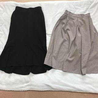 ジーユー(GU)のUNIQLO guスカートセットS(ひざ丈スカート)
