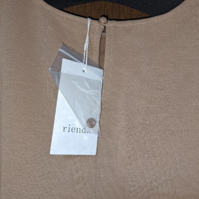 rienda(リエンダ)のリエンダトップス レディースのトップス(カットソー(半袖/袖なし))の商品写真