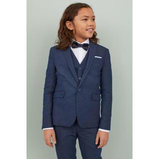 エイチアンドエム(H&M)のH&M 140cm スーツ 5点セット ジャケット ベスト シャツ 蝶ネクタイ(ドレス/フォーマル)
