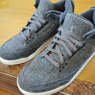 ナイキ(NIKE)のAIR JORDAN 3 RETRO WOOL US11(スニーカー)