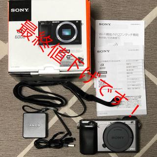 SONY - SONY. α6000 希少 グラファイトグレー ボディ