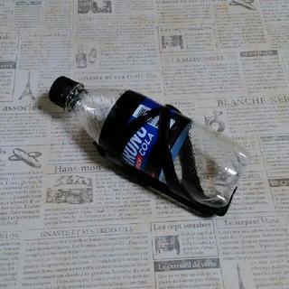 【訳有り】ノーブランド プラスチック ドリンクホルダー/ボトルゲージ ブラック(その他)