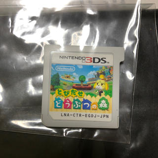 ニンテンドー3DS - 任天堂NINTENDO 3DS とびだせ どうぶつの森
