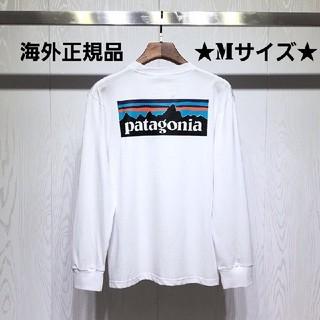 patagonia - ★海外正規品★ 即日発送 patagonia ロンT ホワイト Mサイズ