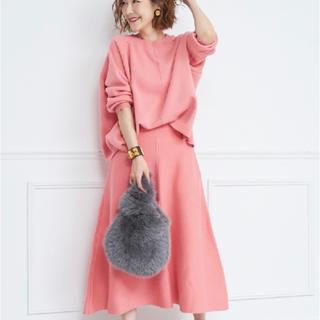 Drawer - obliオブリー ニットセットアップ pink新品