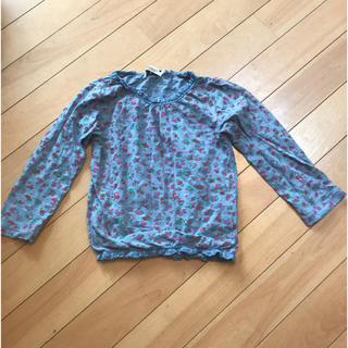 セブンデイズサンデイ(SEVENDAYS=SUNDAY)のSEVENDAYS=SUNDAY花柄カットソー110cm(Tシャツ/カットソー)