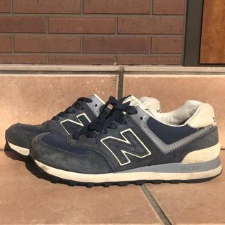 New Balance - 【23.5cm】ニューバランス スニーカー 574 ネイビー