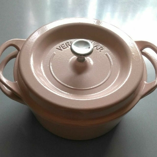 バーミキュラ(Vermicular)の無水鍋 ピンク パール バーミュキュラ VERMICULAR(鍋/フライパン)