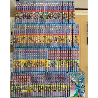 シュウエイシャ(集英社)のおまけ8冊付き「ジョジョの奇妙な冒険 全126巻セット」送料込み(全巻セット)