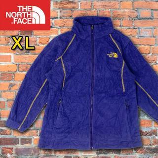 ザノースフェイス(THE NORTH FACE)のザ ノースフェイス レディース 薄手フリースジャケット XL(ブルゾン)