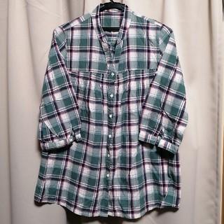 マックハウス(Mac-House)のマックハウス チェックシャツ(シャツ/ブラウス(長袖/七分))