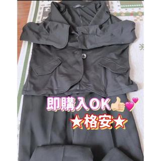 【即購入OK★】レディース フォーマルスーツ パンツスーツ 上下セット(スーツ)